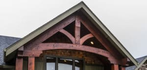 king truss timber framing