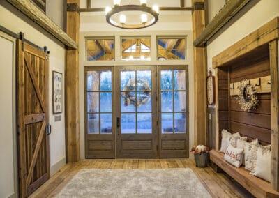 craftsman house timber frrame