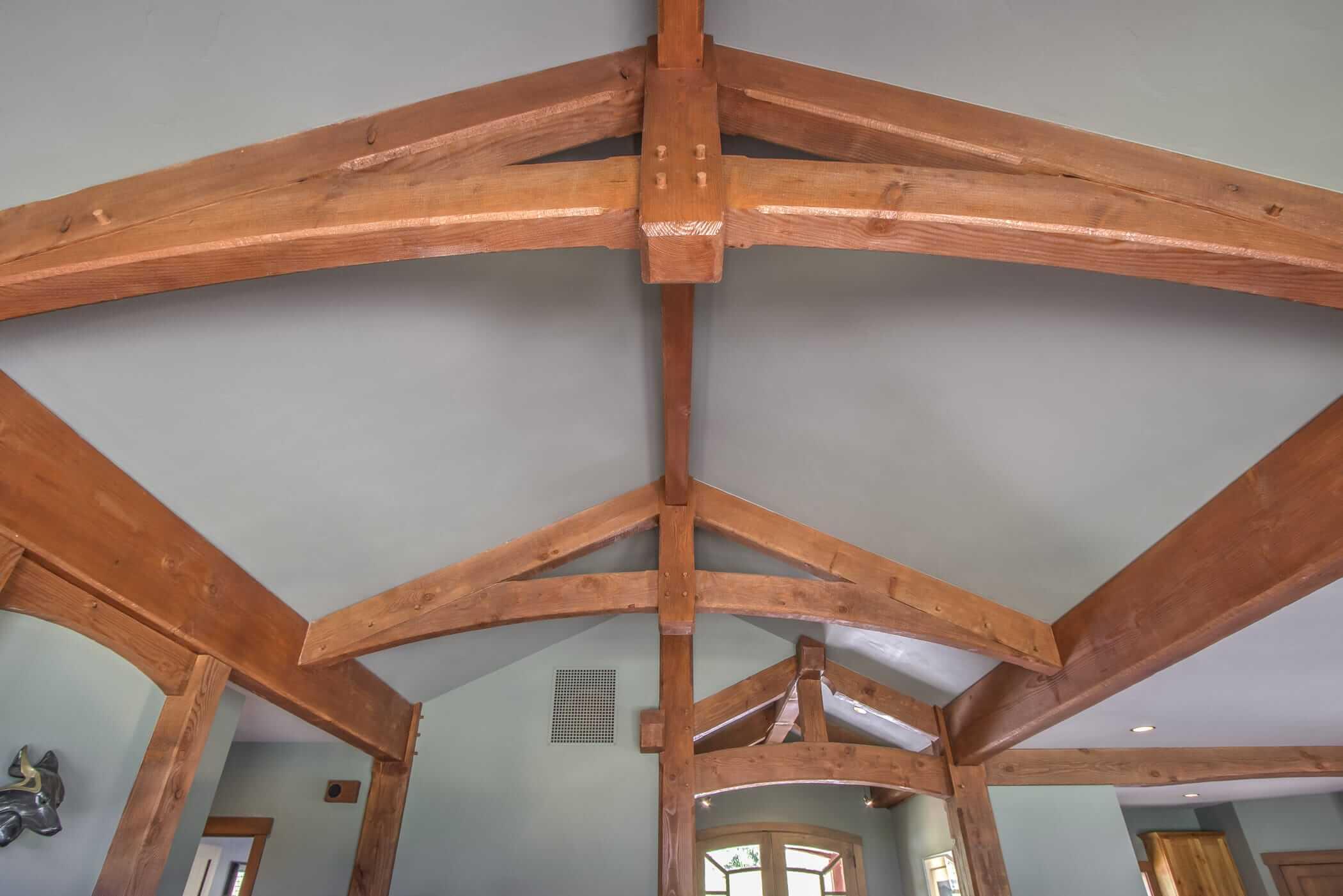 Timber Truss Styles Post Amp Beam Designs For Hybrid