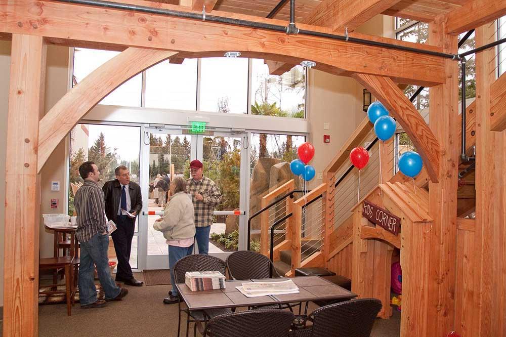 US Digital - Timber Interior