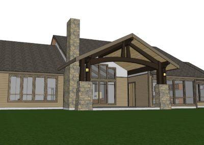 floor plan timber frame hybrid home house