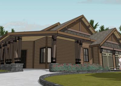 hybrid timber frame floor plans
