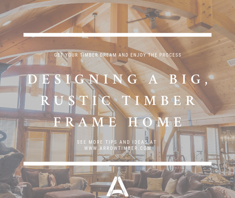 I Want It Big! Designing a Rustic Timber Frame