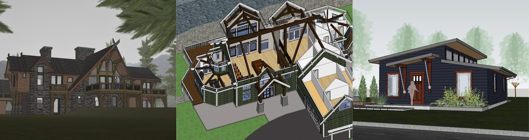 Timber Frame Home Plans | Modern, Rustic, Craftsman, Traditional