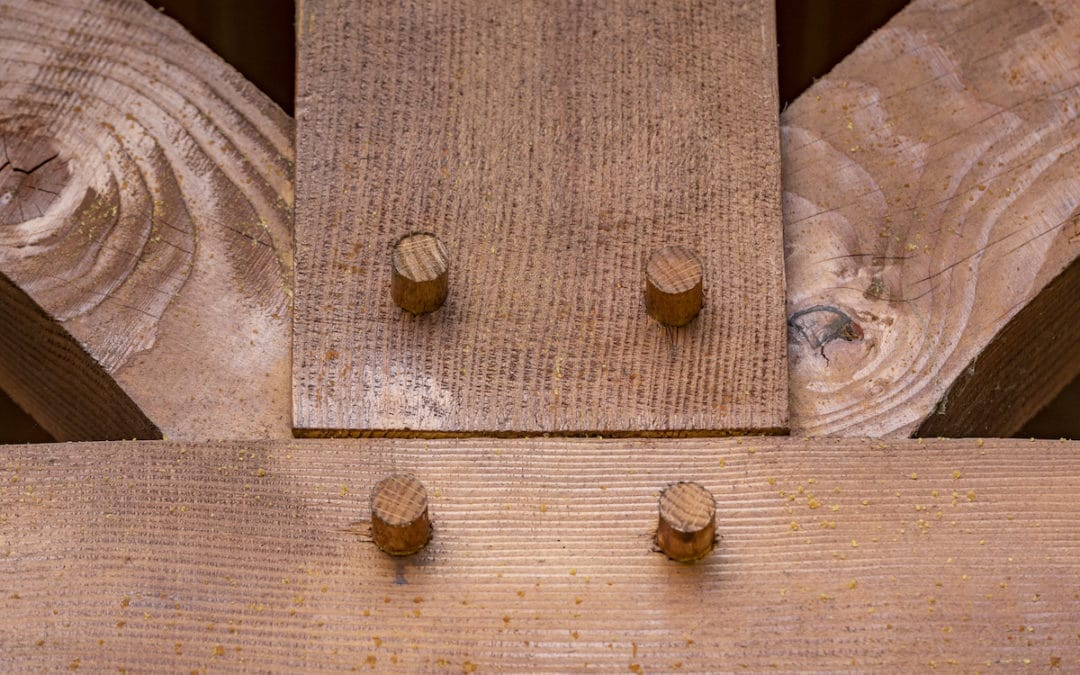 hybrid timber frame home house remodel makeover timber peg mortise tenon joinery