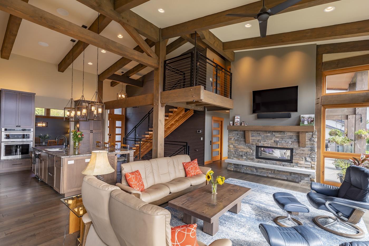 Timber Frame Homes & Custom Hybrid Floor Plans