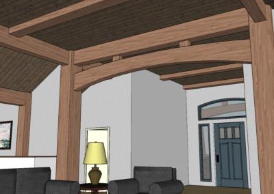 hybrid timber frame floor plan