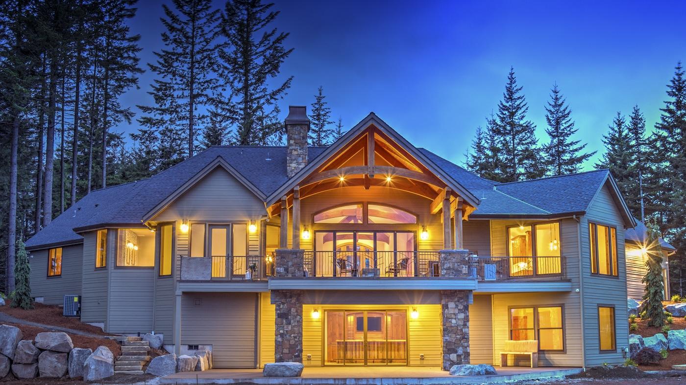 Halpin Residence - Hybrid Timber Frame Home