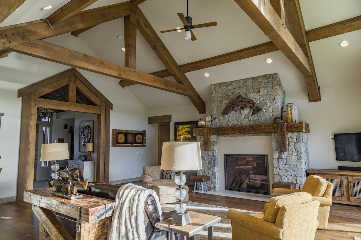 Kletzok - Hybrid Timber Frame Home