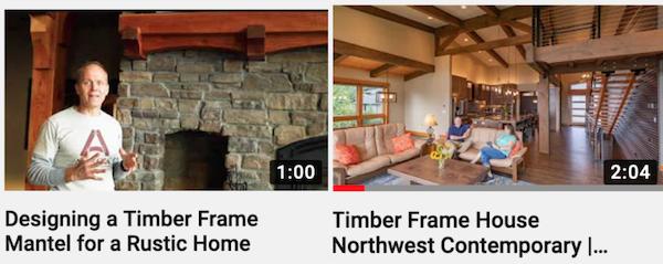 videos timber framing