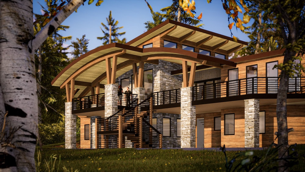 Architects Involvement in Timber House Floor Plans