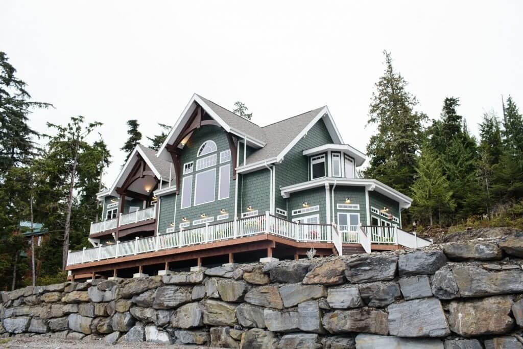 Coastal Timber Frame Home