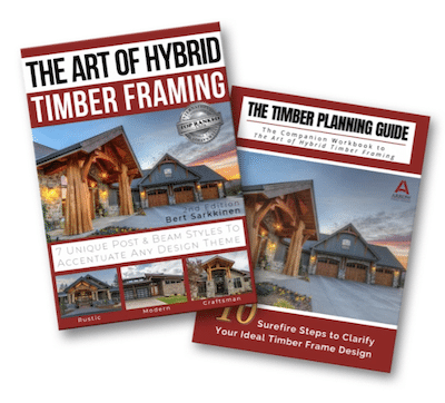 What is Hybrid Timber Framing?